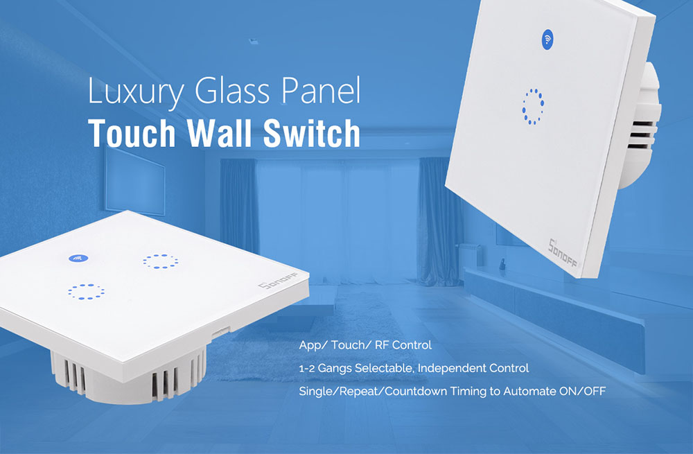 Sonoff T1 EU Wifi Switch