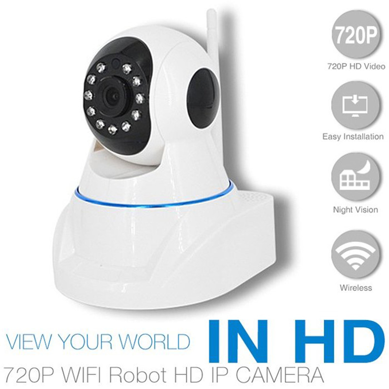 IP Camera Home Wifi Security Cam CCTV P2P Wireless Night Vision 720P HD<br>