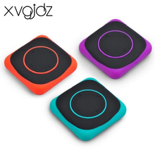Xvgidz mini clip mp3 player with 4GB memory sport running portable mp3 player Ultrathin kids mini mp3 player with LED Light Gift