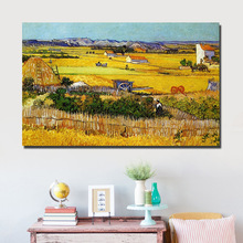 Full Diamond Painting The Harvest Diy Diamond Embroidery By Van Gogh A Wonderful Craft For Decoration A Best Gift For Familys(China)