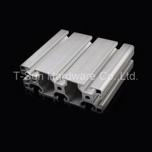 Aluminum Profile Aluminum Extrusion Profile 40120 40*120 commonly used in assembling device frame, table and display stand(China)