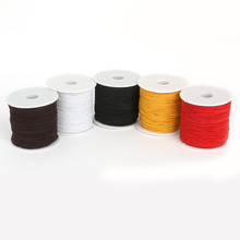 Dia 0.8/1.2/1.5mm Round Elastic Cord Beading Stretch Thread/String/Rope For Jewelry Making Necklace Bracelet Material Supply DIY