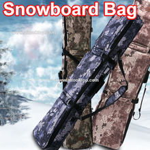 Professional snowboard bag military army camouflage ski  equip waterproof protective pouch camo large snowboard board bag