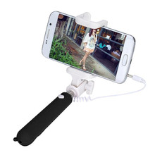 Mini Folding Mobile Phone Wired Handheld Selfie Stick Monopod Camera for For Samsung Galaxy S7 edge Smartphone Phone Selfy Stick