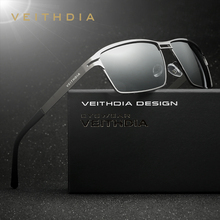 VEITHDIA Stainless Steel Men's Sun Glasses Polarized Driving Oculos masculino Male Eyewear Accessories Sunglasses For Men 2711(China)