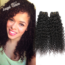 Mongolian Virgin Hair Kinky Curly 2PCS/Lot, Natural Color,100% Unprocessed Mongolian hair, Cheap Mongolian Kinky Curly Hair
