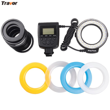 Macro LED Ring Flash RF-550D For any model of NIKON/Canon/Olympus/Sony HDMI brand DSLR