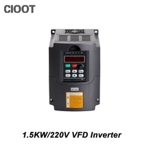 2017 Top Fashion New Arrival Single Grid Tie Inverter 1.5kw Inverter Hy Vfd Spindle 220v Frequency Drive Machine For