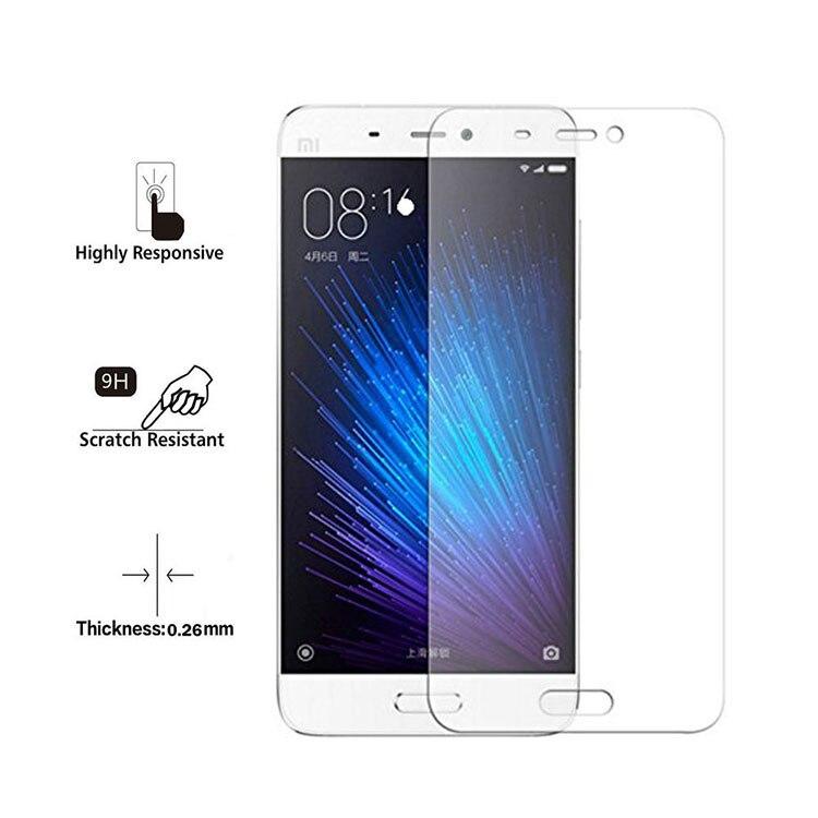 Tempered Glass For Xiaomi Mi5C Mi5S Plus Mi5 Redmi Note 4X 4 3 Mi Max Mi4 Mi4S 3 Pro 3S Screen Protector Film Accessories