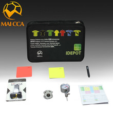 MAICCA new 2017 Professional football referee bag Black Football refereel Match bags equipment Suit(China)