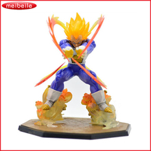 Hot Selling Promotion dragonball z figure Marvel New Japanese Anime Super Saiyan Goku Pvc Dragon ball figurine 17cm(China)
