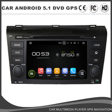 In Dash Car DVD Player for Mazda3 mazda 3 2004-2009 Quad Core Android 5.1 Rockchip3188 16G ROM Radio Bluetooth Mirror Link
