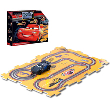 Disney Pixar Cars Cars 3 Lighting McQueen Jackson Storm Cruz Ramirez Track Plastic Model Car Birthday Gifts For Kids Children(China)