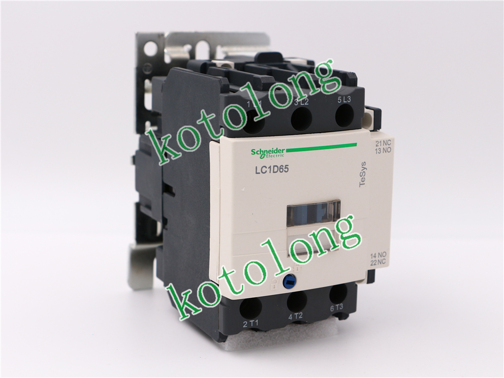 AC Contactor LC1D65 LC1-D65 LC1D65B7 24V LC1D65D7 42V LC1D65E7 48V LC1D65F7 110V<br>