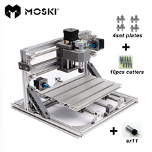 MOSKI,CNC 2418 with ER11,mini cnc laser engraving machine,Pcb Milling Machine,Wood Carving machine,cnc router,cnc2418,best gifts(China)