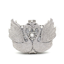 BL055 Luxury diamante evening bags colorful clutch bags women party purse  dinner bags crystal handbags gemstone wedding bags
