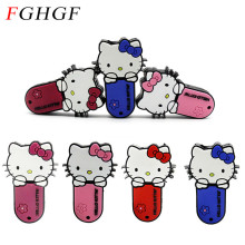 FGHGF new kitty Hello Kitty Usb Flash Drive 64gb Pen Drive 32gb 4gb 8gb 16gb Cartoon U Disk Flash Card kitty Memory stick gift