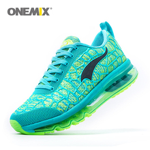 Onemix Newest Womens Sport Sneakers Damping Outdoor Running Shoes Breathable Summer Womens Jogging Shoes Size EUR 36-40