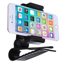 Car Sun Visor Sunvisor Shade Shield Smartphone Holder Rotating 360 degree Adjustable Clamp for mobile phones GPS