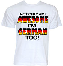MENS FUNNY COOL NOVELTY GERMAN SLOGAN GERMANY FLAG T-SHIRTS JOKE RUDE GIFTS IDEA Casual T Shirt Male Short Sleeve Pattern
