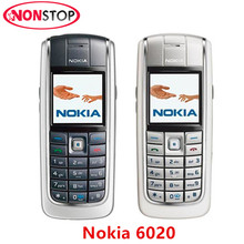 6020 Original Nokia 6020 Unlocked Cheap GSM Mobile phone Refurbished Free shipping(China)