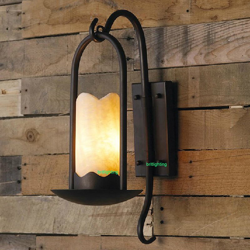 Industrial and Retro Sconces bar counter large Wall Mount Sconce country style glass wall lamp Edison bulb wall light led lamp<br><br>Aliexpress