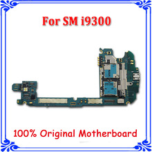 good working i9300 motherboard original mainboard for samsung S3 GT-I9300 16GB logic board full function board with Android(China)