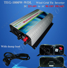 For DC Output Wind Turbine 1000w 48v wind grid inverter for 220v ac country(China)