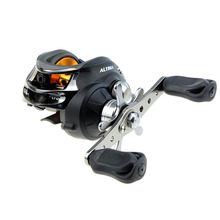 DMK Left/Right Fishing BaitCasting Reel Fishing Reels 10BB 6.3:19+1 BB Reel Carp Fishing Bait Casting Water Drop Wheel De Pesca(China)