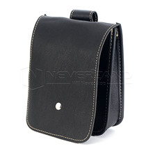 Black Motorcycle Faux Leather Saddlebags Saddle Tool Pouch Side Bag Storage for Harley Honda Suzuki Yamaha Freeshipping D25