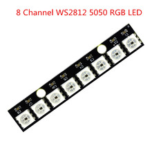 8 Channel WS2812 5050 RGB LED Lights Development Board for arduino