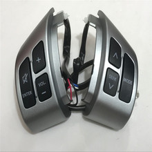 JINGHANG Auto parts For Suzuki Swift SX4 Auto(NEW) Car Steering wheel control buttons seek buttons VOL button free shipping(China)