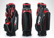 Hot sale! High quality Brand New PGM Golf Bag for Men 2 Colors PU Golf Standard Ball Bag With Cover
