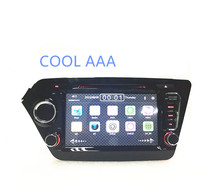2din 2 din dvd player for KIA K2 RIO 8 Inch Car DVD Player 2012- With  Host Radio GPS Navigation RDS bluetooth  1080P Free Maps