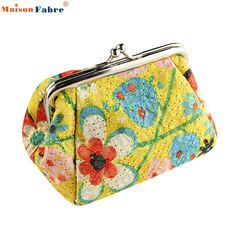 High Quality Women Lady Retro Vintage Flower Small Wallet Hasp Purse Clutch Bag<br><br>Aliexpress