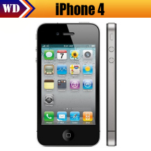 Cheapest Original Apple Iphone 4 Smartphone 3.5 inch IOS Apple A4 5MP Camera 1GHz 512MB RAM 32GB ROM WCDMA WIFI GPS Mobile phone