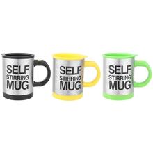 Buy 1psc 200ml Black Green Yellow Electric Coffee Cup Self Stirring Milk Tea Mug Mixing Coffee Cup Drinkware Assessories Promotion for $8.38 in AliExpress store