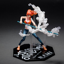 One Piece Figure Nami Milky Ball Battle Ver. PVC Action Figure 15CM One Piece Nami Collectible Model Toy Figurine One Piece Doll(China)