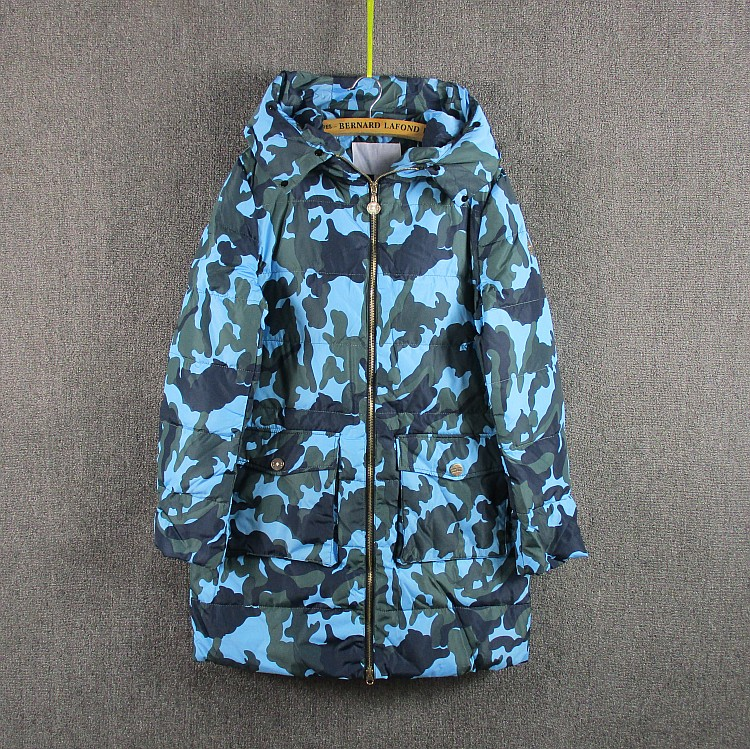 Girls down jacket womens coat Outerwear  autumn and winter coat old Girls down coat Upset with cloth with soft nap<br>