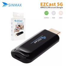 10p Ezcast 5G TV Stick Dongle 5G DLNA Airplay HDMI Miracast Air Mirroring High Speed Transmission WiFi Wireless Display Receiver(China)