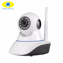 Golden Security 2017 Wireless WIFI Camera 720P HD IR-Cut Night Vision home store Baby Monitor Audio Record CCTV Indoor Camera(China)