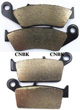 Sintered Brake Pad Set fit for KAWASAKI 125 KX KX125 1995 1996 1997 1998 1999 2000 2001 2008