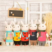 Original METOO Toys Tiramisu Rabbit Dolls Stuffed Plush Kids Toy Bunny Stuffed Animal Lamy Rabbit Toy Gifts For Kids Chidren