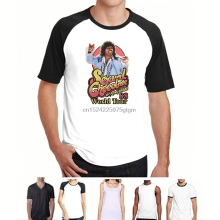 Buy Printed Men T Shirt Cotton tshirts O-Neck Short-Sleeve RANDY WATSON - SEXUAL CHOCOLATE WORLD TOUR 88 Women T-Shirt