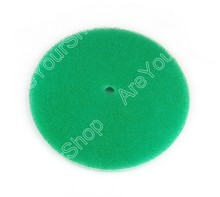 Car Air Filter Cleaner Element 1 PCS 200mm DRY 3 Layers Green Round Car Replacement High Quality