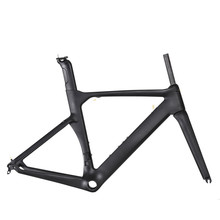 Free shipping 2017 race bike frame carbon Road Bicycle Frameset Di2 full carbon fibre bicycle Frame+Fork+Seatpost+Clamp+Headset