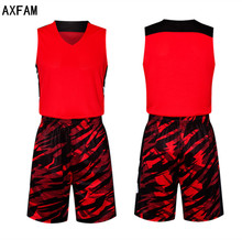 AXFAM Men's throwback basketball jerseys kit 2017 Perfect quality Breathable printing blank Custom Basketball Uniforms LIE6329