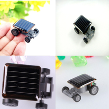 1 PCS Solar Car The Smallest Solar Powered Car Educational Solar Powered Toy for Children Gifts