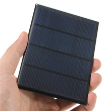 12V 1.5W Epoxy Solar Cells Solar Panel Mini Polycrystalline Silicon Solar DIY Battery Charger Solar Module System 115x85mm(China)
