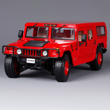 Maisto 1:18 HUMMER H1 SUV Car Diecast Model Car Toy New In Box Free Shipping 36858(China)